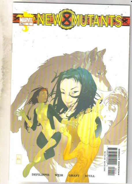 New Mutants #1 comic book mint 9.8