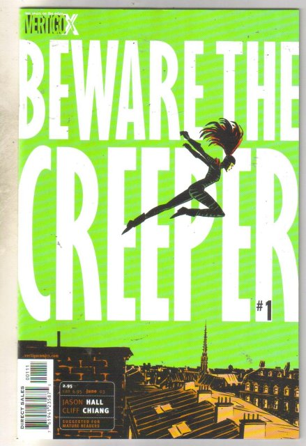 Beware The Creeper #1 comic book mint 9.8