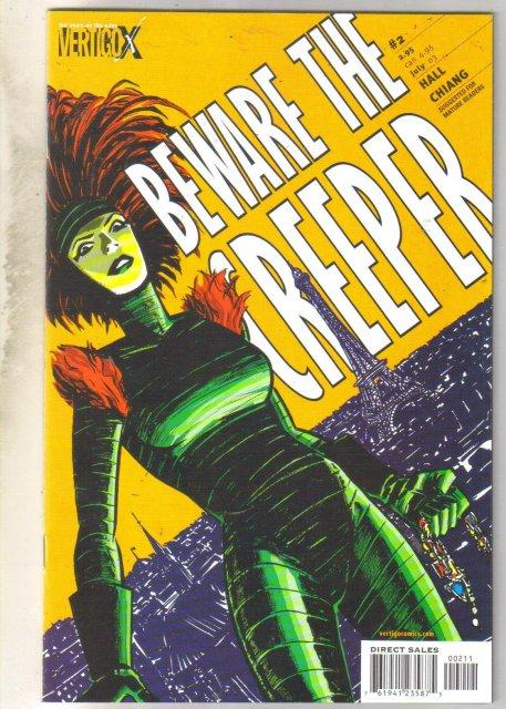 Beware The Creeper #2 comic book mint 9.8