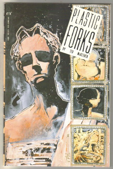 Plastic Forks #4 comic book near mint 9.4