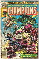 Champions #13 comic book good 2.0