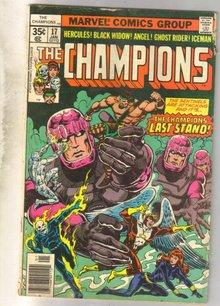 Champions #17 comic book good 2.0