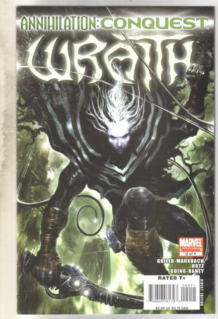 Annihilation: Conquest Wrath #2 comic book near mint 9.4