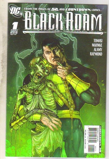 Black Adam #1 comic book near mint 9.4