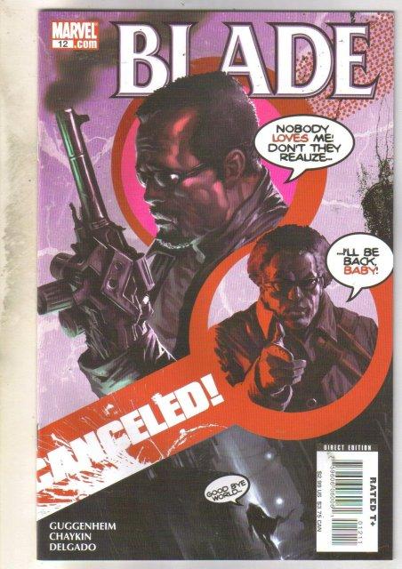 Blade #12 comic book near mint 9.4