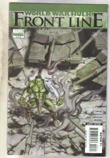 World War Hulk Frontline #3 comic book near mint 9.4