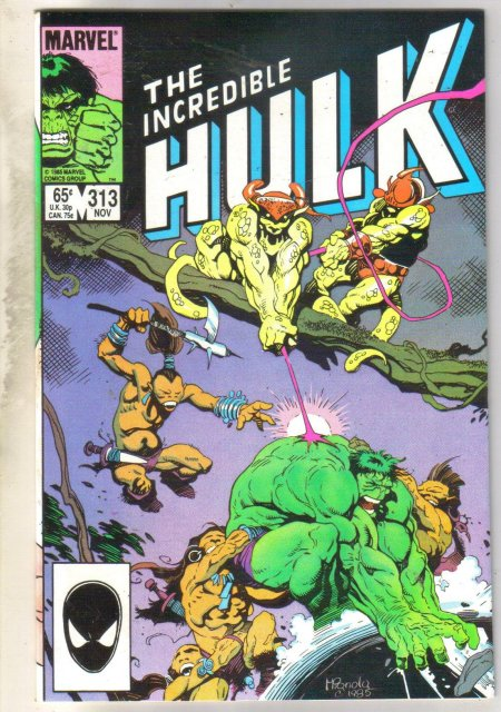 Incredible Hulk #313 comic book near mint 9.4