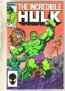 Incredible Hulk #314 comic book mint 9.8