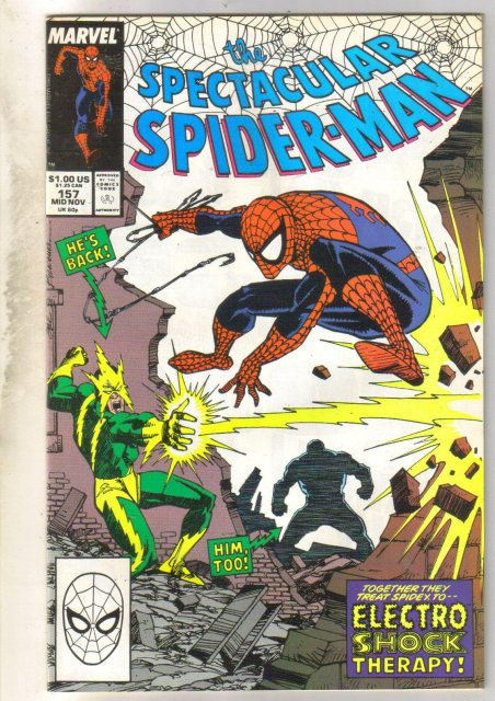 Spectacular Spider-man #157 comic book mint 9.8