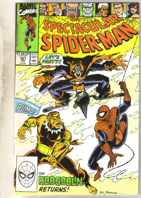 Spectacular Spider-man #161 comic book mint 9.8