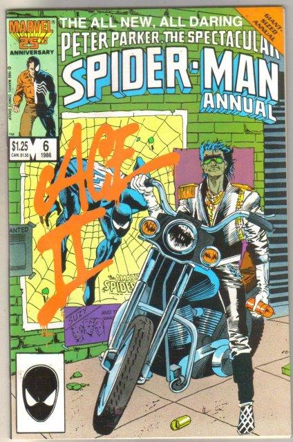 Spectacular Spider-man Annual #6 comic book near mint 9.4