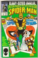 Spectacular Spider-man Annual #7 comic book fine 6.0