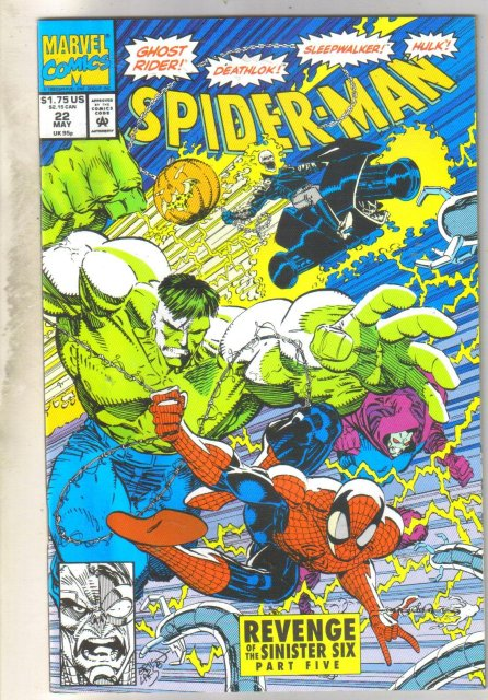 Spider-man #22 comic book mint 9.8