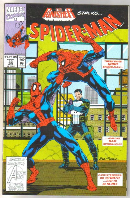 Spider-man #33 comic book mint 9.8