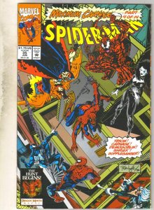 Spider-man #35 comic book near mint 9.4