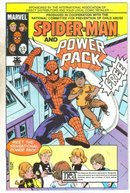 Spider-man and Power Pack child abuse giveaway near mint 9.4