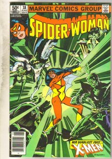 Spider-woman #38 comic book near mint 9.4