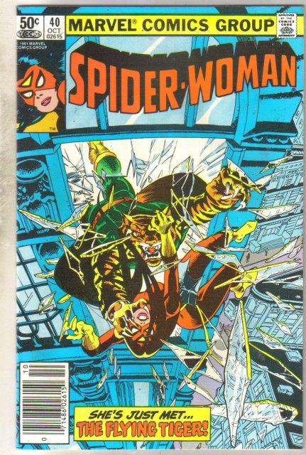 Spider-woman #40 comic book near mint 9.4