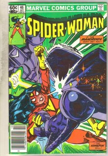 Spider-woman #46 comic book near mint 9.4