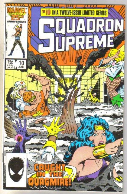 Squadron Supreme #10 comic book mint 9.8