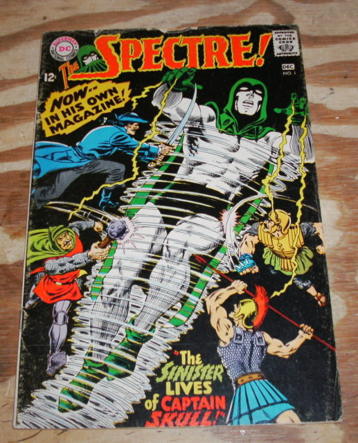 The Spectre #1 comic book very good/fine 5.0