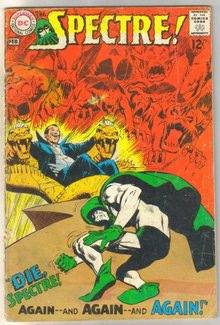 The Spectre #2 comic book good plus 2.5