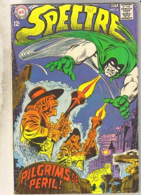The Spectre #6 comic book very good 4.0