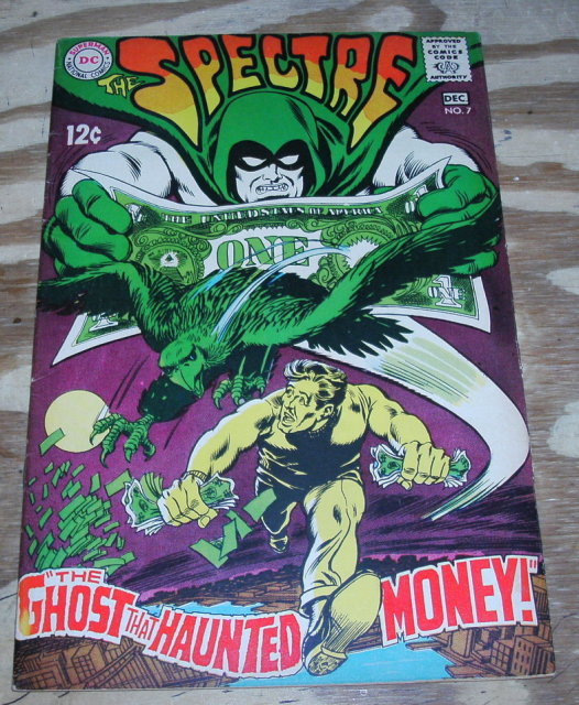 The Spectre #7 comic book very good/fine 5.0