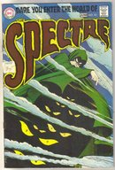 The Spectre #10 comic book very good 4.0