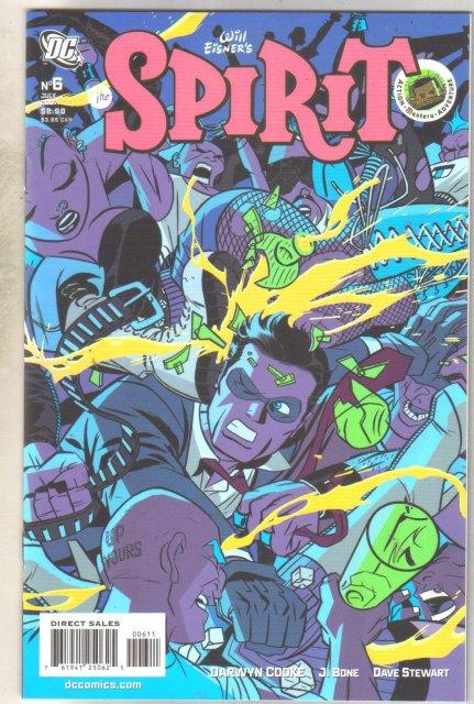 The Spirit #6 comic book mint 9.8