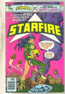 Starfire #1 comic book fine/very fine 7.0