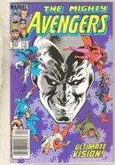 Avengers #254 comic book