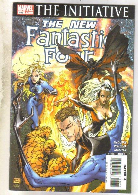 Fantastic Four #548 comic book near mint 9.4
