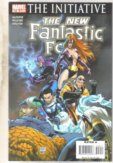 Fantastic Four #549 comic book near mint 9.4
