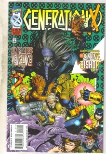 GenerationX #14 comic book mint 9.8