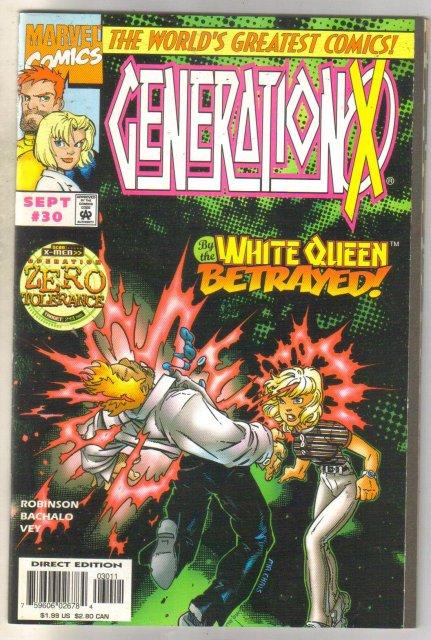 GenerationX #30 comic book mint 9.8