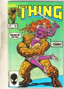 The Thing #20 comic book near mint 9.4