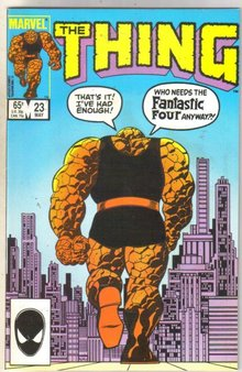 The Thing #23 comic book near mint 9.4