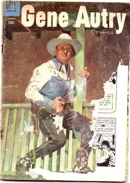 poor .5 Gene Autry comic #95