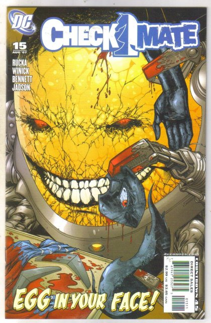 Checkmate #15 comic book mint 9.8