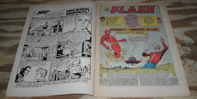 Flash #137 comic book very good 4.0