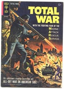 Total War comic #1 vg/fn 5.0