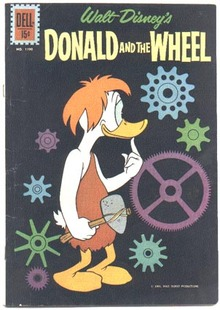 Donald and the Wheel comic (Donald Duck) fn/vf