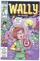 Wally the Wizard #7 comic book  nm 9.4