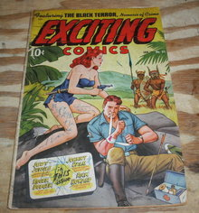Exciting Comics #65 g/vg 3.0