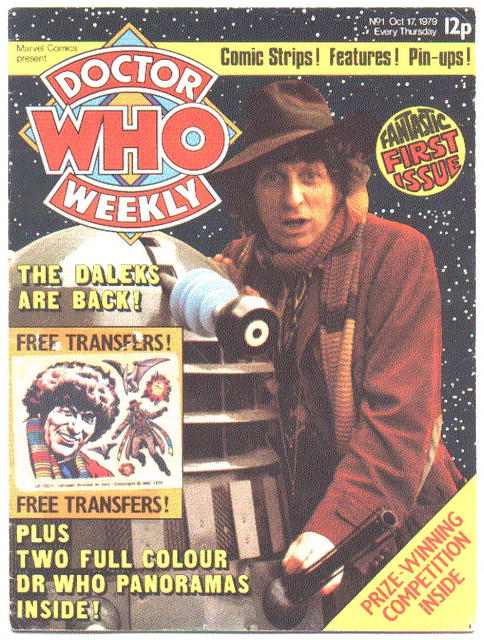 Doctor Who Monthly (weekly) #1 magazine vg 4.0