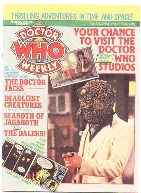 Doctor Who Monthly (weekly) #2 magazine vf 8.0