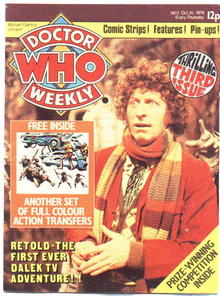 Doctor Who Monthly (weekly) #3 magazine vf 8.0