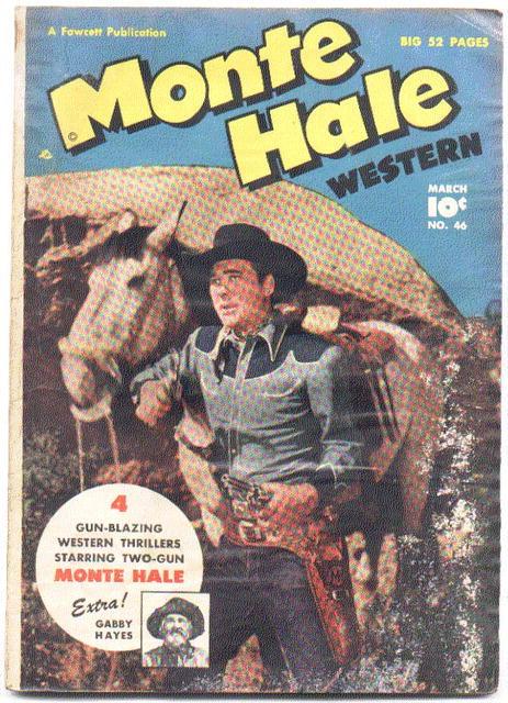 Monte Hale #46  comic fa 1.0