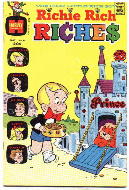 Richie Rich Riches #6 comic vf 8.0